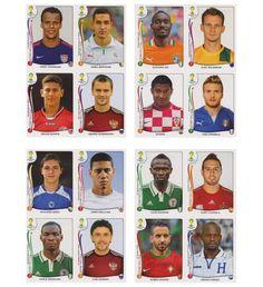 Panini WM 2014 Update Set Belgien - 84 Sticker, Stickerpoint