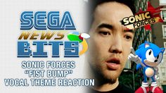 """SEGA News Bits: Sonic Forces Fist Bump Vocal Theme Reaction - https://www.youtube.com/watch?v=k6FwldA214Y On this SEGA News Bits, George and Barry fist bump their way through the recently revealed main theme to Sonic Forces. The track, titled """"Fist Bump"""", features vocals and lyrics by Douglas Robb of Hoobastank and is composed and arranged by... https://www.sonicretro.org/2017/07/sega-news-bits-sonic-forces-fist-bump-vocal-theme-reaction/"""