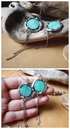 Mother of pearl earrings by Alice Savage. Boho gypsy hippie chic, handmade, artisan jewelry. Shop at www.alicesavage.eu