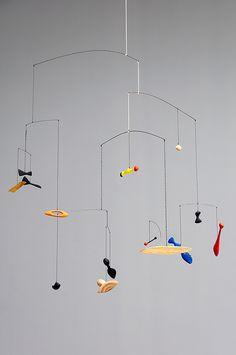 Alexander Calder - Constellation Mobile, 1943 by de_buurman, via Flickr Alexander Calder, Mobiles Art, Mobile Sculpture, Kinetic Art, Hanging Mobile, Art Abstrait, The Artist, Outdoor Art, Wire Art