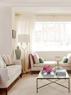 living room style inspiration (June, 2011 Chatelaine magazine. Designer: Heidi Smith)