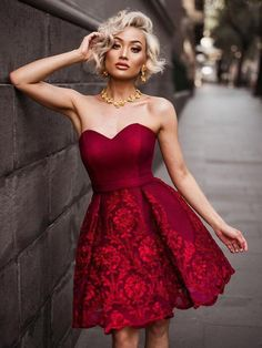 Sweetheart Homecoming Dress, New Homecoming Dresses, Sexy Burgundy Strapless Homecoming Dresses, Burgundy Homecoming Dresses, Prom Dresses For Sale, Bridesmaid Dresses, Bridesmaids, Burgundy Bridesmaid, Prom Gowns, Summer Dresses, Dresses Short