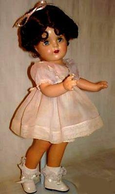 "~ Composition ""Princess Elizabeth"" Doll ~ (1937-1941)"