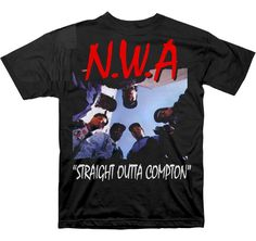 Band Tees - NWA T-shirt - Straight Outta Compton Tee - http://www.band-tees.com/store/N_00950_003%21CNTRL/N.W.A.+Straight+Outta+Compton+T-shirt