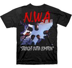 Band Tees - NWA T-shirt - Straight Outta Compton Tee - http://www.band-tees.com/store/N_00950_003%21CNTRL/N.W.A.+Straight+Outta+Compton+T-shirt