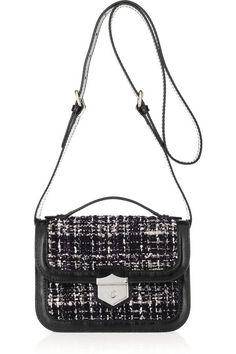 Alexander McQueen Wicca tweed shoulder bag