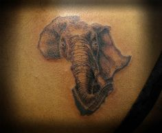 31 best african elephant tattoo images on pinterest elephant rh pinterest com tattoo elephant african african elephant tattoo designs