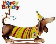 A special pie boy turns 13 today. Happy Birthday Dachshund, Happy Birthday 1, Happy Birthday Wishes Cards, Birthday Posts, Birthday Messages, Birthday Greeting Cards, Dachshund Drawing, Dachshund Breed, Funny Dachshund