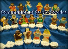 Communion of Saints Cookies |