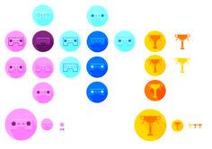 Eerste varianten van 2 icoontjes voor gaming FEEDBACK: meer variaties maken van bekers