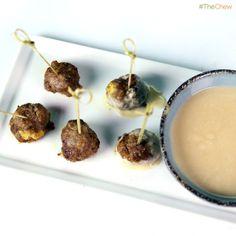 Swedish Meatballs by Michael Symon! #TheChew