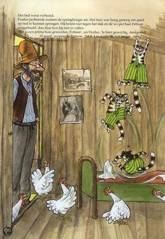 bol.com | Findus gaat verhuizen, Sven Nordqvist | 9789059084520 | Boeken Character Illustration, Book Illustration, Trolls, Son Chat, Candy Art, Nordic Art, Typography Prints, Photo Postcards, Whimsical Art