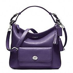 LEGACY LEATHER COURTENAY HOBO  --- love, love, love the purple & style. I didn't get this, but I did get Kristen on sale in Black. Saving up for Courtenay-Purple.