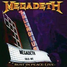 """Il DVD dei Megadeth intitolato """"Rust In Peace Live"""". Per celebrare il 20° anniversario di """"Rust in peace"""" i #Megadeth hanno regalato ai propri fan un tour esclusivo. Su questa pubblicazione troverete l'ultimo spettacolo registrato a Hollywood e ben 6 altri classici dei Megadeth."""