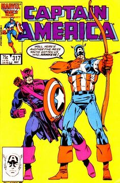 Captain America # 317 by Paul Neary & Jackson Guice