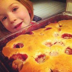 gâteau renversé aux fruits