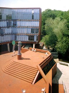 Florey Building, The Queen's College, University of Oxford, England, 1966-71