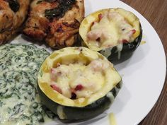 Bacon And Cheese Gem Squash