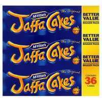 McVities Jaffa Cakes - food of the gods but do you think I can find them anywhere here at the moment?  Time for a trip to England, I think