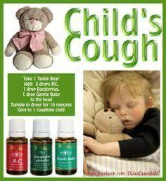Child's cough EO's