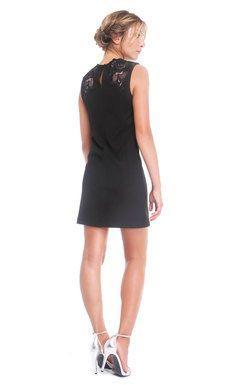 BCBG Max Azria Little Black Lace Dress