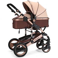 stroller pram 2016 Luxury baby throne Six Colour Four Wheels Single Seat baby stroller, stroller bag