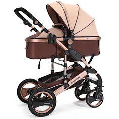 stroller pram 2016 Luxury baby throne Six Colour Four Wheels Single Seat baby stroller, stroller bag