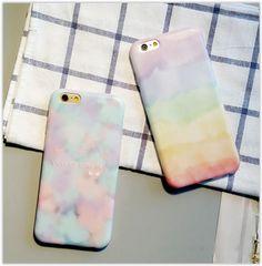 Printed Case for iPhone 6 / 6 Plus #marble #rainbow #phonecase