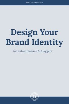 You've been hustlin' at building your online business. And it's been  working (yay!!!) Now what? How do you take your biz to the next level?  Spoiler alert - it's all about the design of your [buzzword alert]....BRAND  IDENTITY. So you're thinking about getting a logo and brand identity  designe