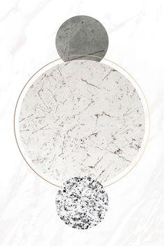 Round white marble frame vector | premium image by rawpixel.com / sasi Metallic Wallpaper, Paper Wallpaper, Wallpaper Backgrounds, Green Marble, White Marble, Overlays Picsart, Marble Art, Round Frame, Photo Editing Vsco