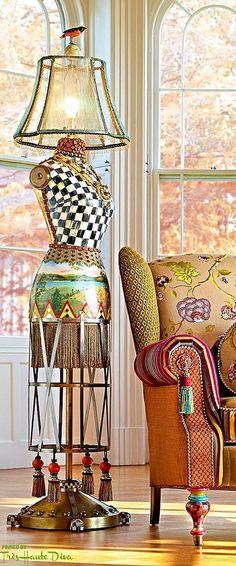 68 DIY & Design Recycled Lamps Ideas  #design #diy #ideas #lamps #recylced