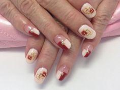 ボルドーが人気!! 【ネイルサロン FUNKY】 http://nail-beautynavi.woman.excite.co.jp/design/detail/21604?pint ≪ #nail #nails #nailart #softgel #ネイル #冬ネイル #秋ネイル #フレンチネイル #変形フレンチ ≫