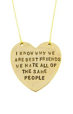 BFF Necklace ♥ LOL