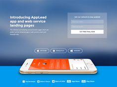 App landing page demo by R.Genesis
