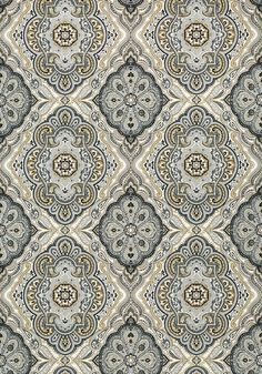 Sterling - Charcoal and Linen wallpaper, from the Serenade collection by Anna French Linen Wallpaper, Accent Wallpaper, Pattern Wallpaper, Wallpaper Backgrounds, Vintage Wallpaper Patterns, Wallpapers, Textile Pattern Design, Textile Patterns, Textiles