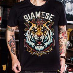 Camiseta Tiger Old School