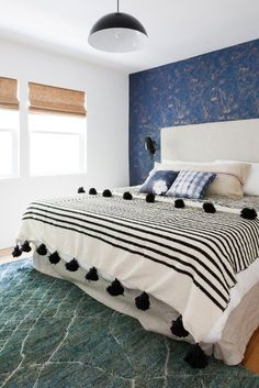 Photography by Amy Bartlam Eclectic Bedroom Design