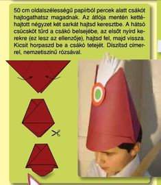 kokárda március 15 Diy And Crafts, Crafts For Kids, Arts And Crafts, Art N Craft, Independence Day, Art Lessons, Kindergarten, Techno, Activities