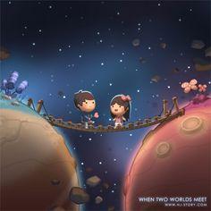 ★ Delicious Brown ★ 21 Cute Illustrations Defining True Love.