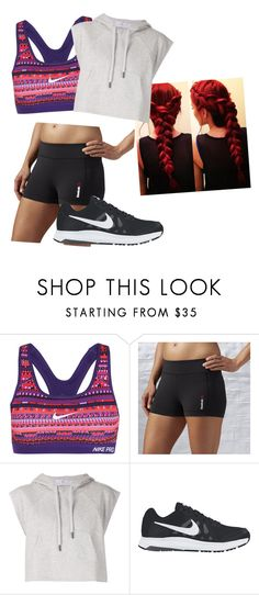 """""""gym"""" by amidis on Polyvore featuring NIKE, Reebok, adidas, women's clothing, women, female, woman, misses and juniors"""