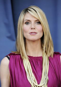 Heidi Klum Hair  She has the best hair EVER!!