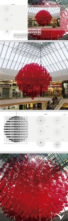 Decoracion Origami Bogota ~ Instalaci?n art?stica para el centro comercial Unicentro Bogota