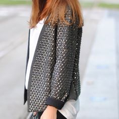 Zara Studded Jacket
