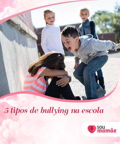 5 tipos de bullying na escola   O bullying é um problema que infelizmente ocorre em muitas escolas ao redor do mundo. Nem todas as agressões que acontecem nessas situações são iguais: existem as físicas, as psicológicas e as de várias outras categorias. Em seguida, forneceremos detalhes sobre os diferentes tipos de bullying na escola.