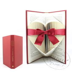 Heart Folded Book Art by Rosy Hammersley - The Folded Page