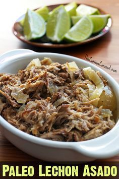 Paleo Cuban Lechon Asado for Slow Cooker or Instant Pot // TheCuriousCoconut.com
