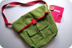 Nature Explorer Bag! I might make a me-sized one...
