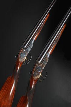Pair of Purdey shotguns