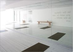 gym design | Found on hotboxyoga.com.au