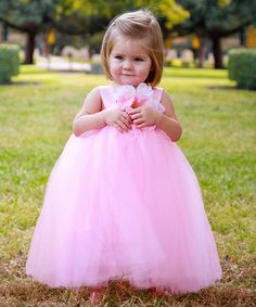 Save Now on this Pink Flora Dress - Infant, Toddler & Girls by Heart to Heart on #zulily today!